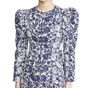 Ulla Johnson Wren Dress Blue Denim Floral - Size 2